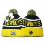 NRL Beanie North Queensland Cowboys Yellow