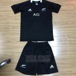 Kid's Kits New Zealand All Blacks Rugby Jersey 2019-20 Home