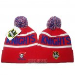 NRL Beanie Newcastle Knights Red
