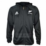 New Zealand All Blacks Rugby 2018-19 Hooded Jacket01