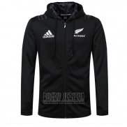 New Zealand All Blacks Rugby 2018-19 Hooded Jacket