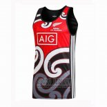 New Zealand All Blacks Rugby Tank Top Red