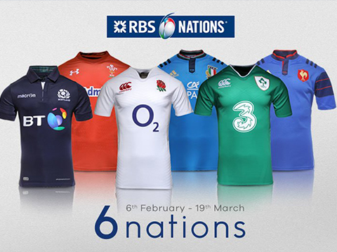 Cheap 6 Nations Rugby Jerseys