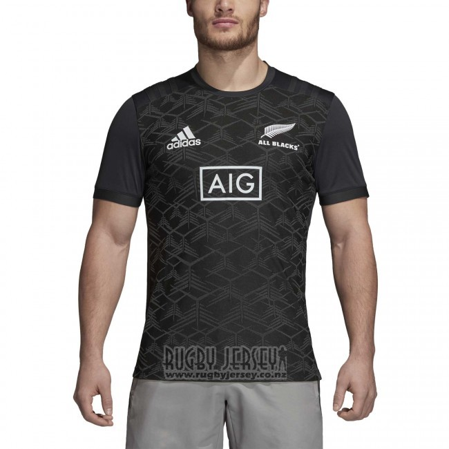 New Zealand All Blacks Rugby Jersey 2018 Gray